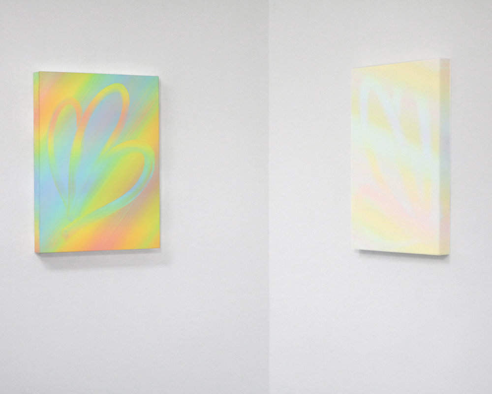 FOUR STEPS TO SELF HELP  Small Editions, Brooklyn, NY May 26 – July 1, 2017  Left to right, Aliza Morell:  Sleight , 2016;  Woofle Dust , 2017.