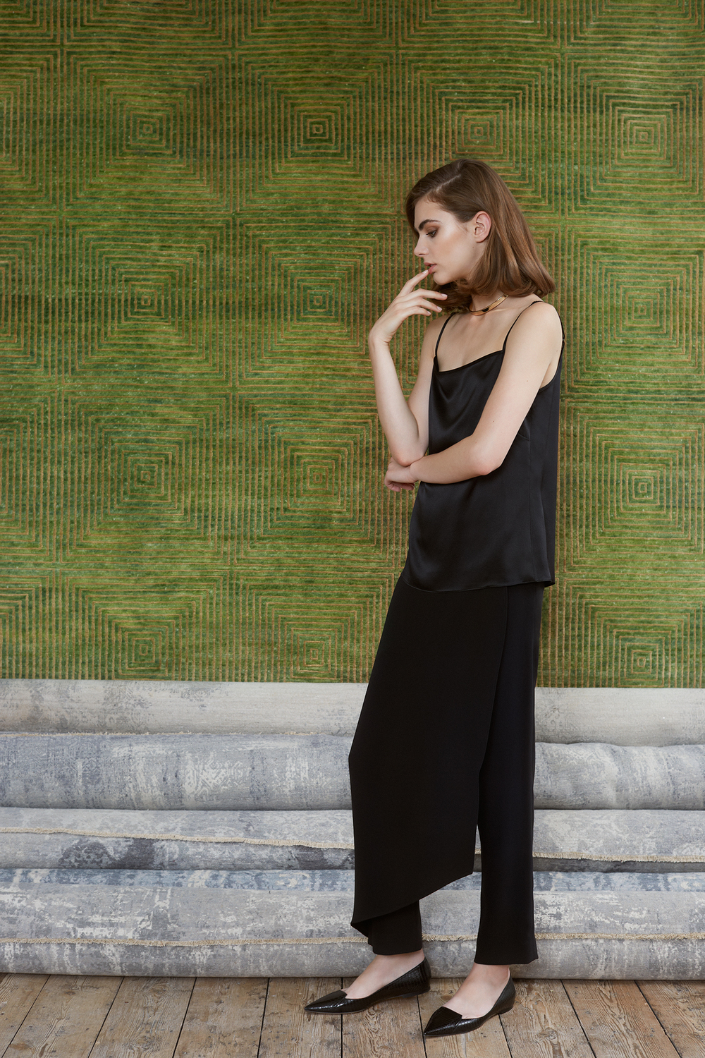 Ellworth camisole, Gehry trousers