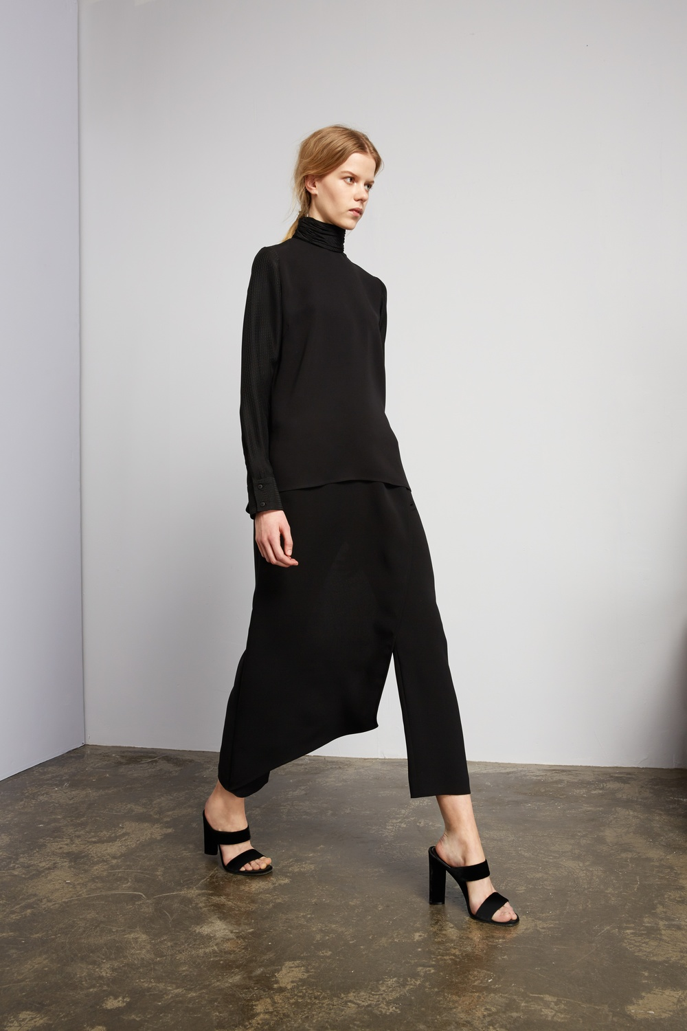Stahl polo neck top, Gehry pants