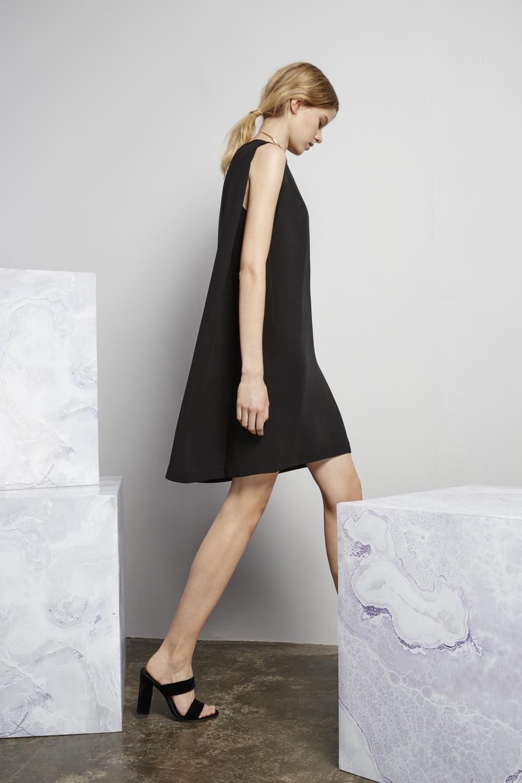 Corbusier cape dress