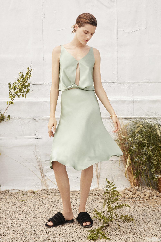 Hera top, Delphi skirt