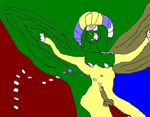 Ange sphinx
