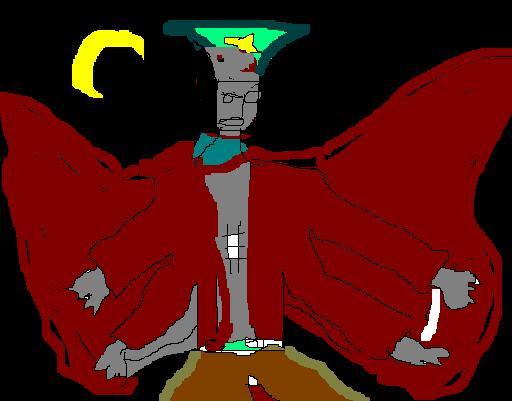 L'ange imbécile aux quatre mains