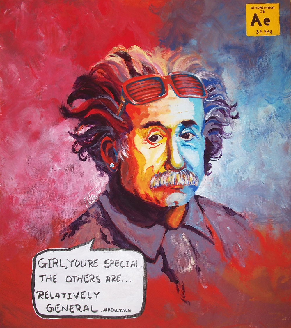 Noble Gases: Albert Einstein