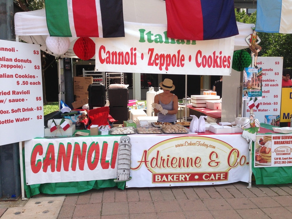 at WorldFest in Downtown Louisville, KY