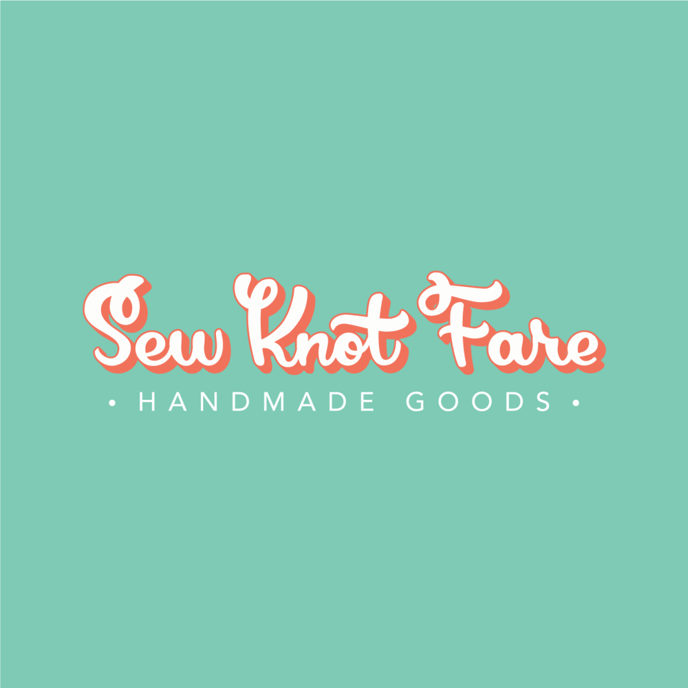 Sew Knot Fare Logo: Click to see full case study.