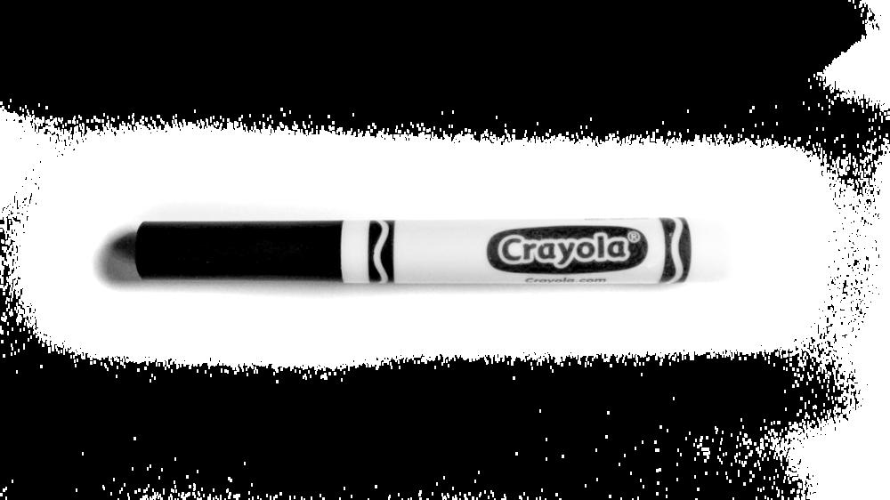 * Crayola Broad Tip Marker *