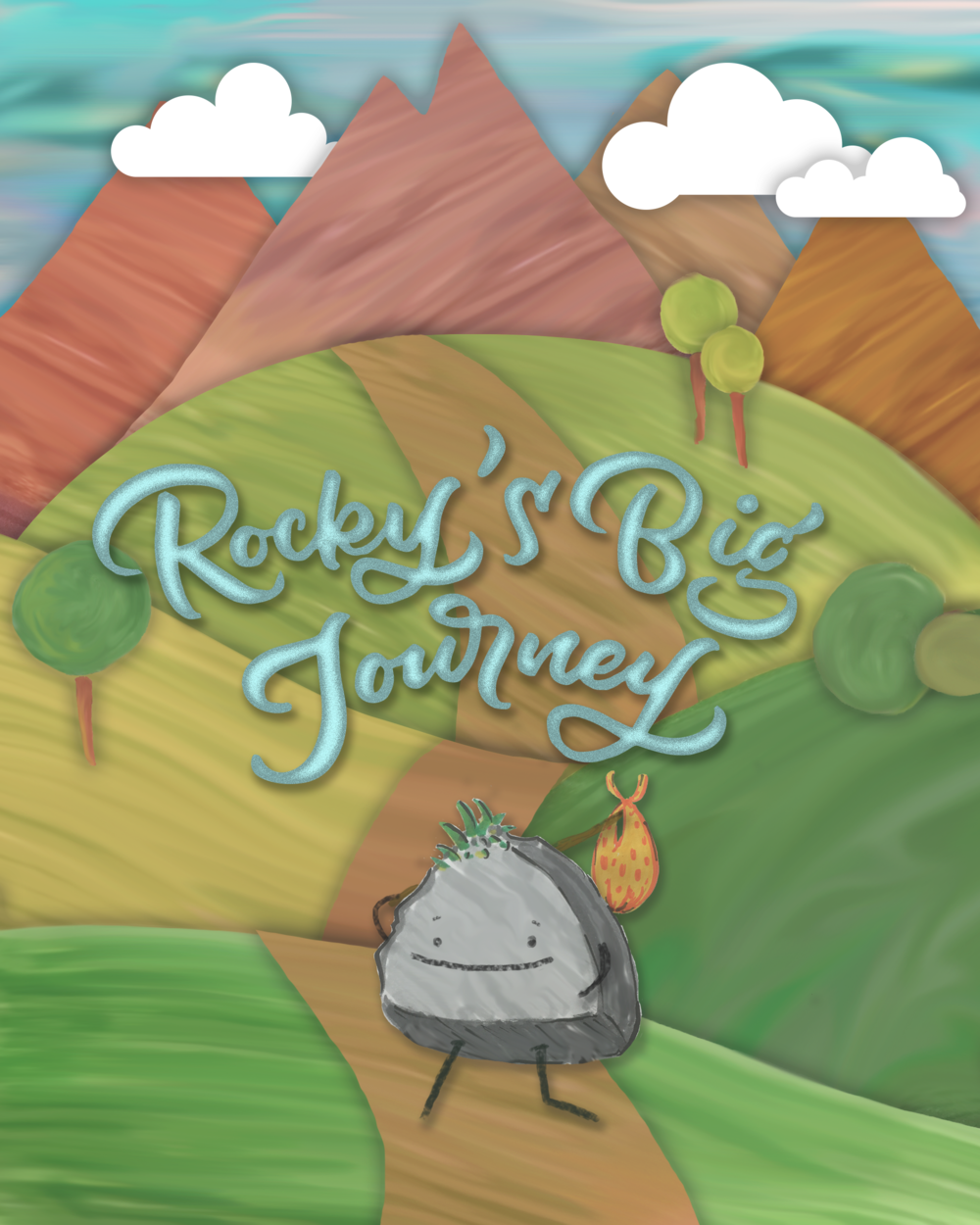 Rocky's Big Journey Children's Book by Noah Camp