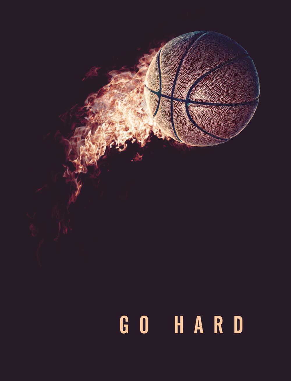 Basketball Poster Design by Noah Camp