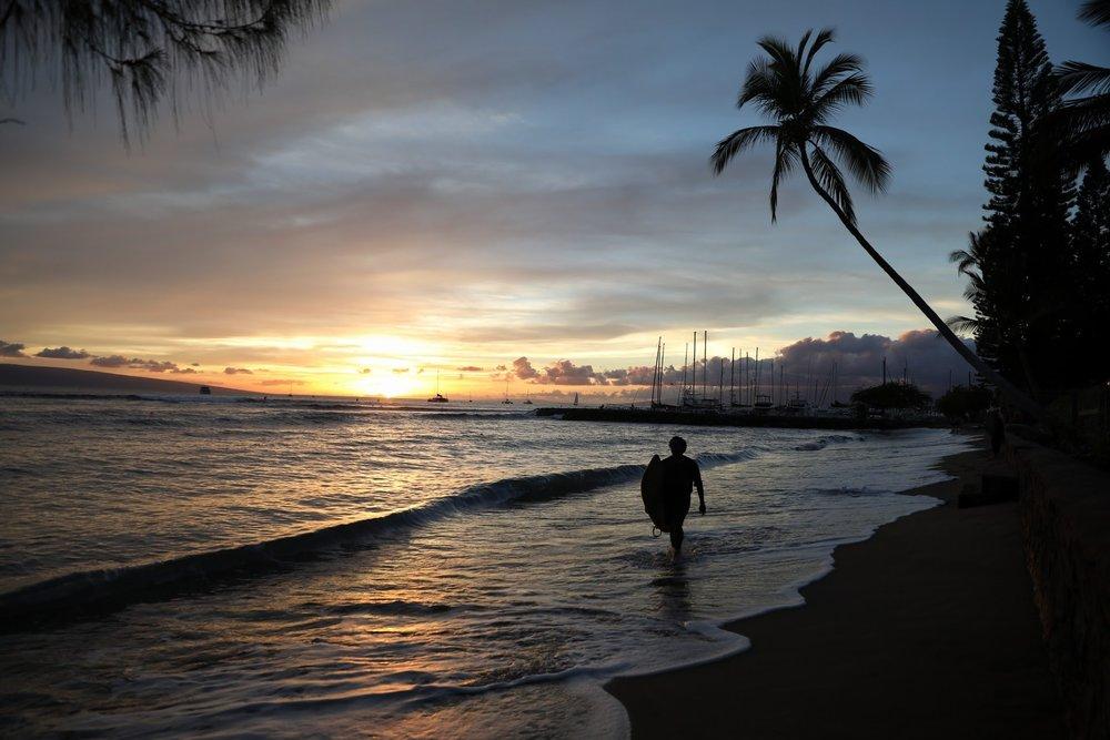 Surf - Maui Island, Hawaï