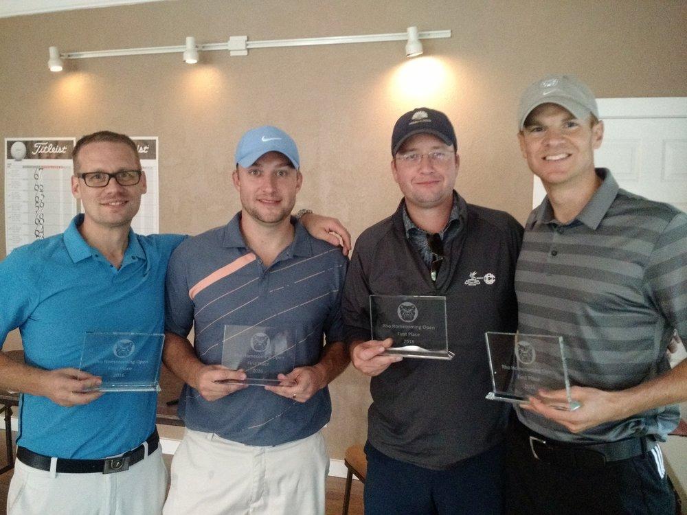 Team Champions Todd McIntire, Matt Kiger, Marc Kreuger, and Scott Gotshall