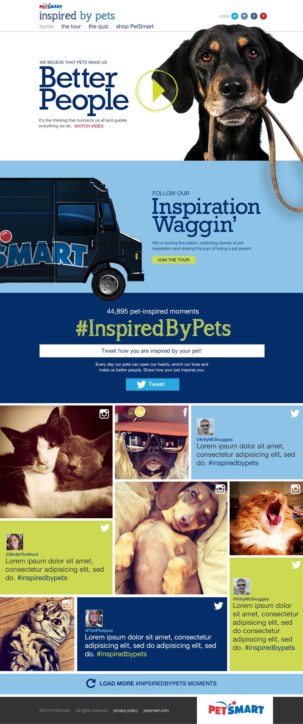 PetSmart Responsive Concept