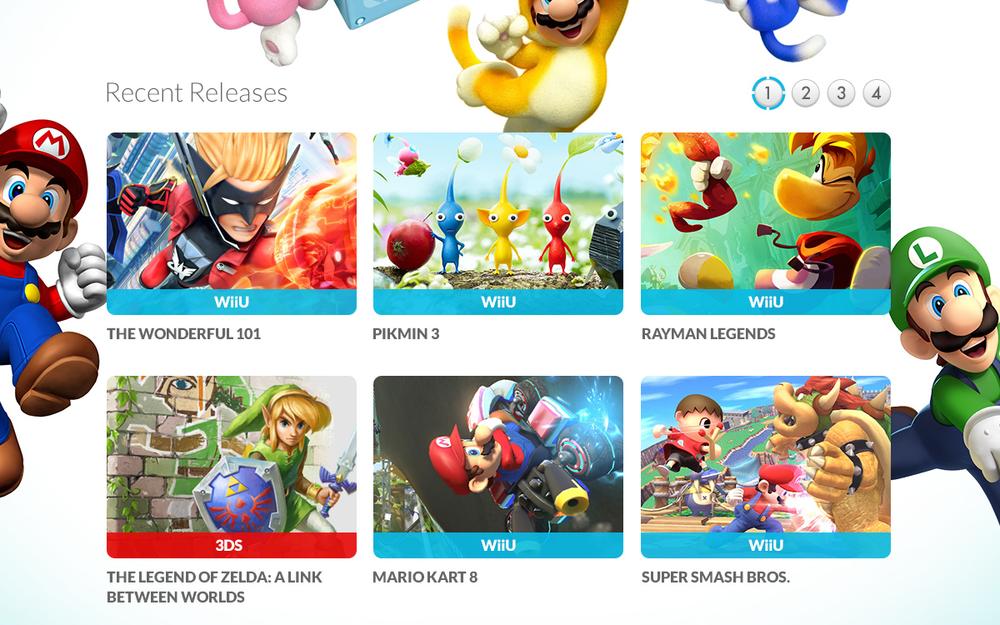 Nintendo Responsive Home 2