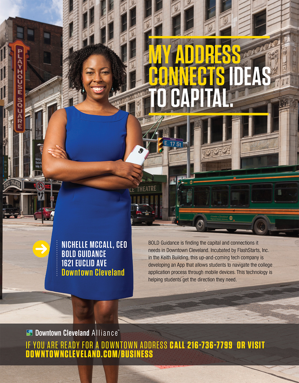 Nichelle McCall - CEO Bold Guidance