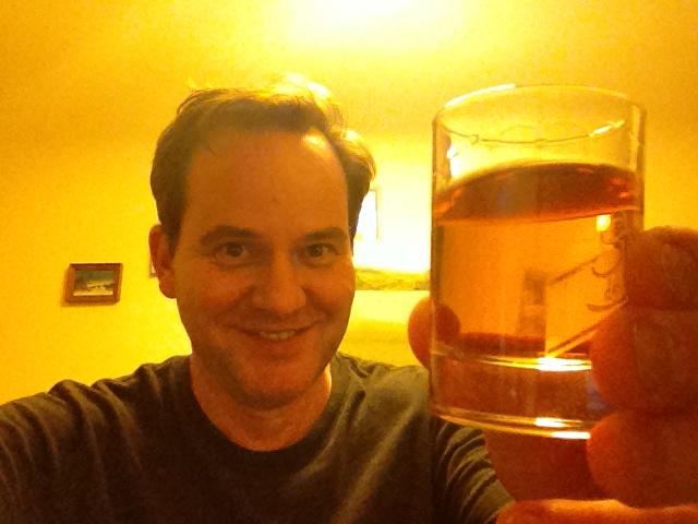 A toast to me