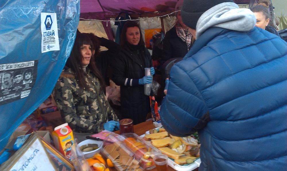 Feeding Maidan