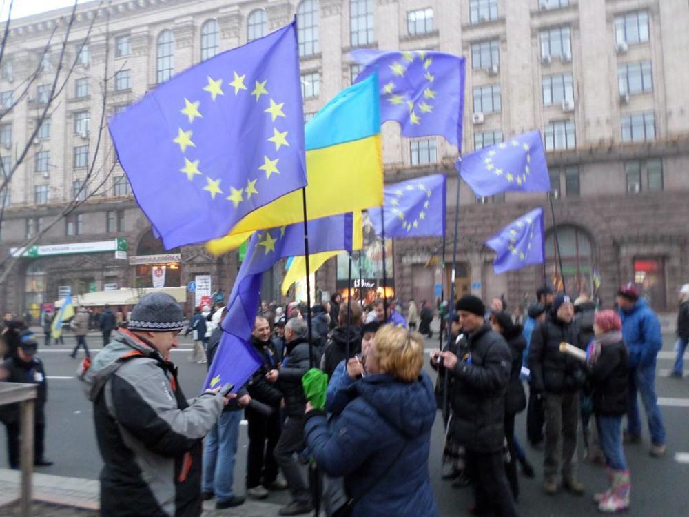 Ukrainians want their children to be European