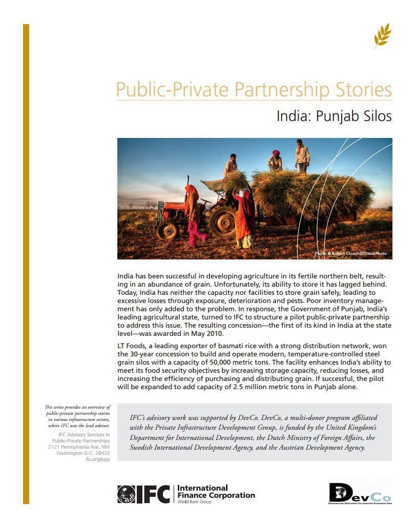 India: Punjab Silos