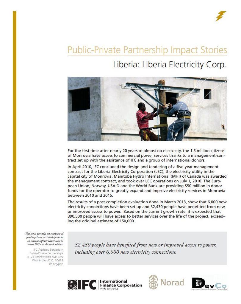 Liberia: Liberia Electricity Corporation
