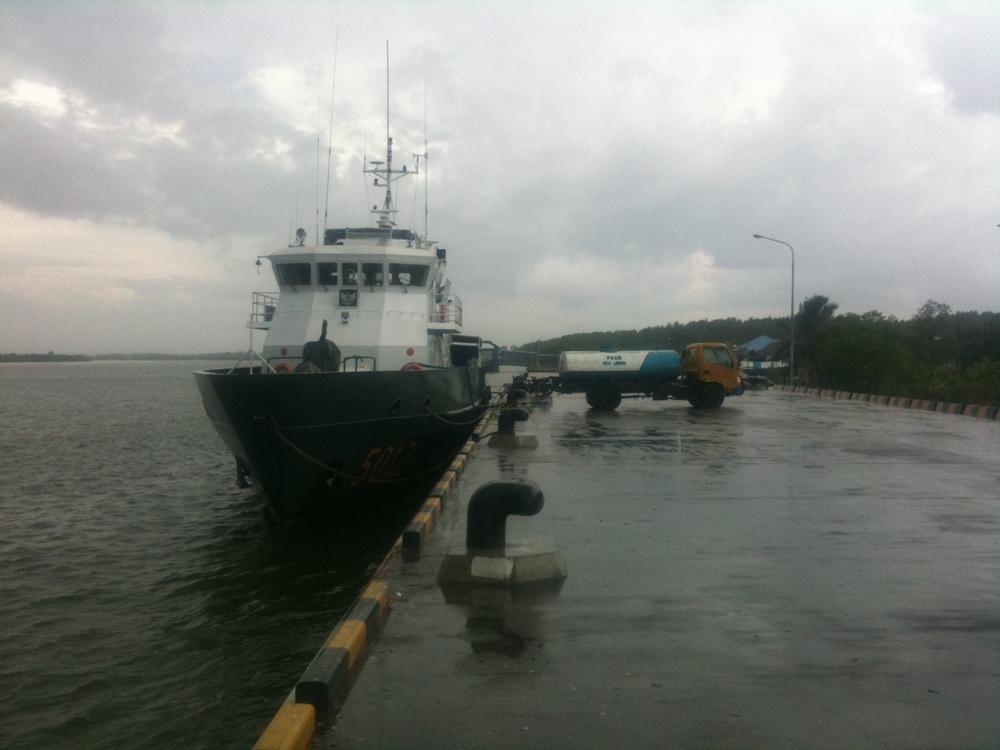 Boat at Port Langsa, Aceh