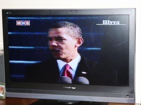 Obama rules the Mongolian airwaves