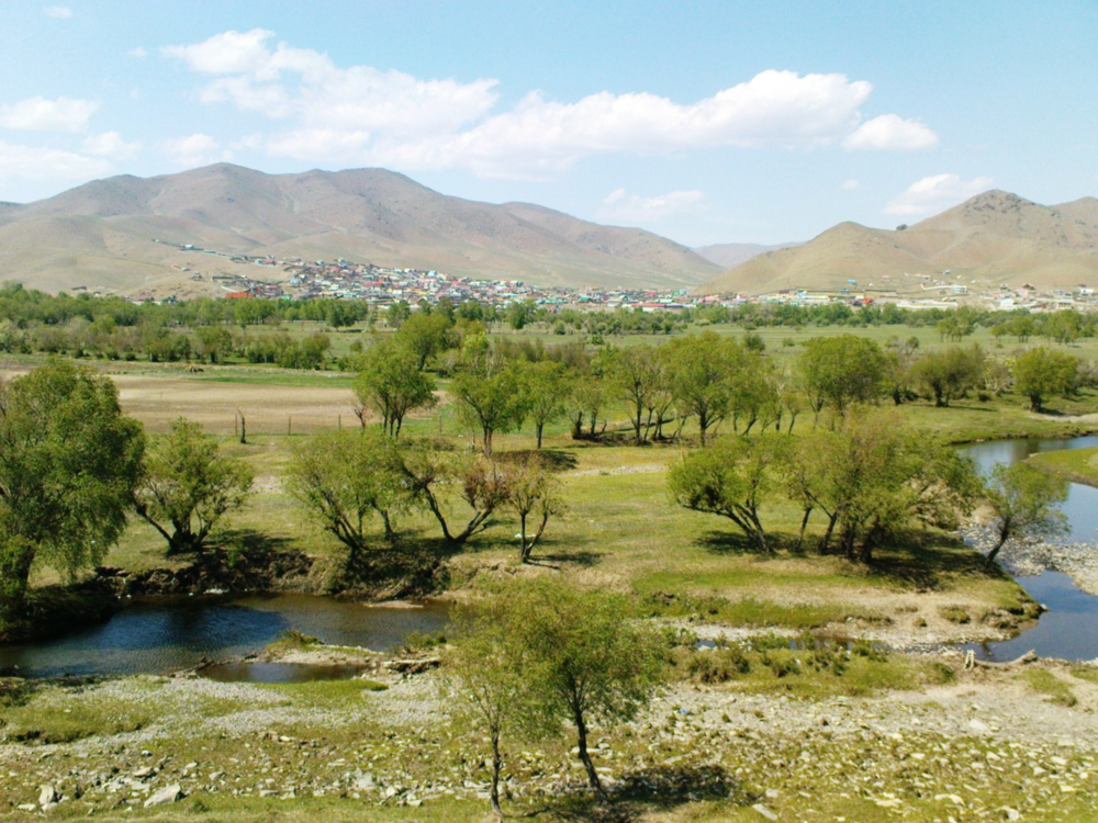 Mongolian Countryside - River Tuul