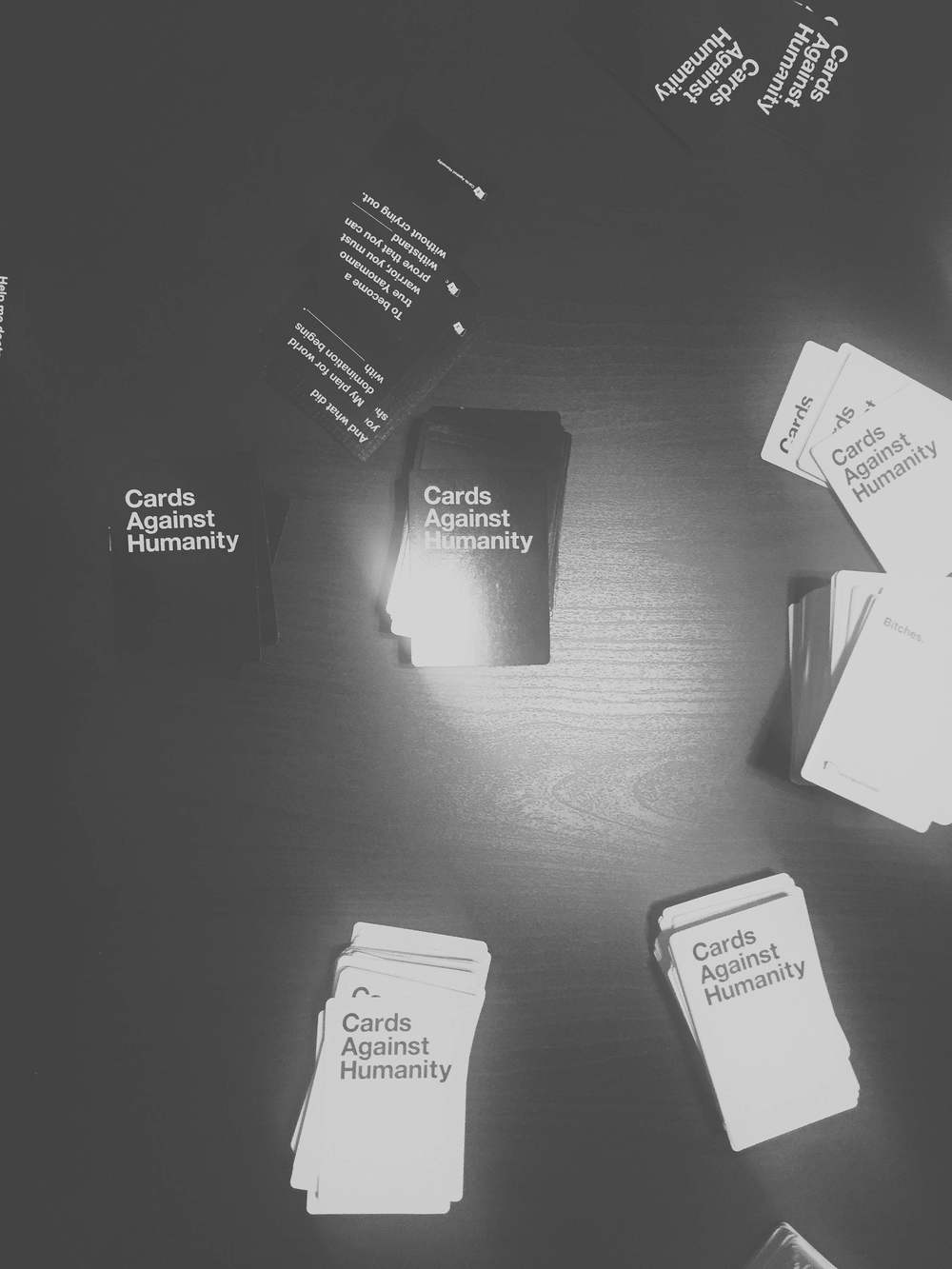 DAY 29- Arrived in Austin and played a few rounds of Cards Against Humanity.