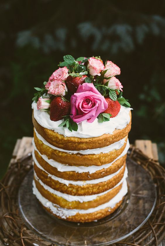 NAKED CAKE - Does anyone have a favorite cake recipe they would like to share?