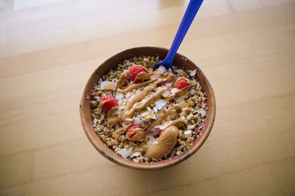 Acai Bowl and BBQ -