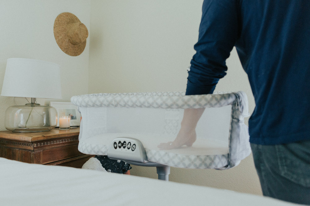 The Halo Bassinet   will great for those midnight feedings with Gigi.