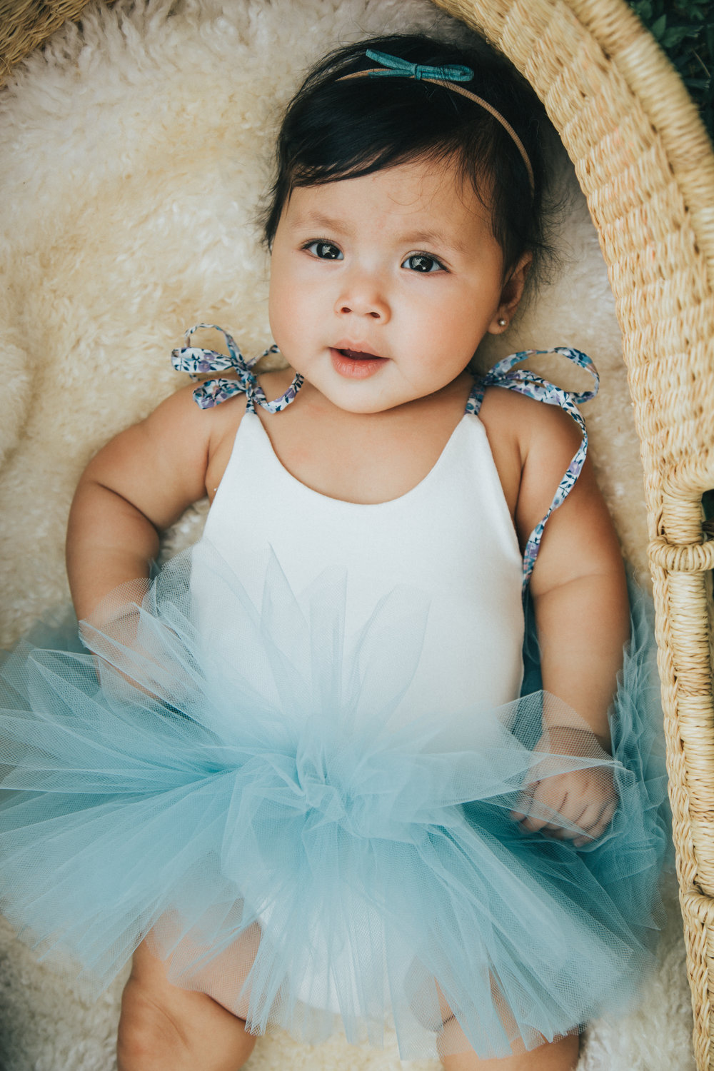 So happy Gigi finally fits into her tutu dress by  WrareDoll . A gift from our mama friend, Joy Green.
