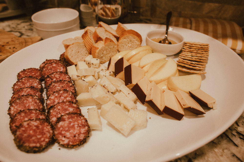 I will never turn down a nice cheese plate, it's always fun putting them together.