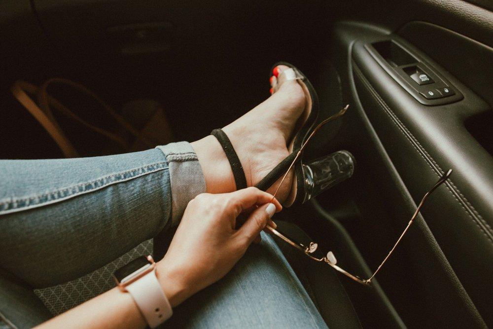 HEELS I am wearing heels!