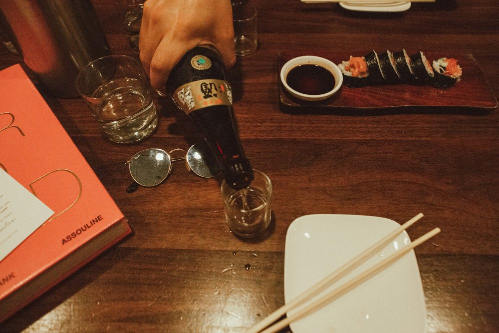 Give me all the Sake please!