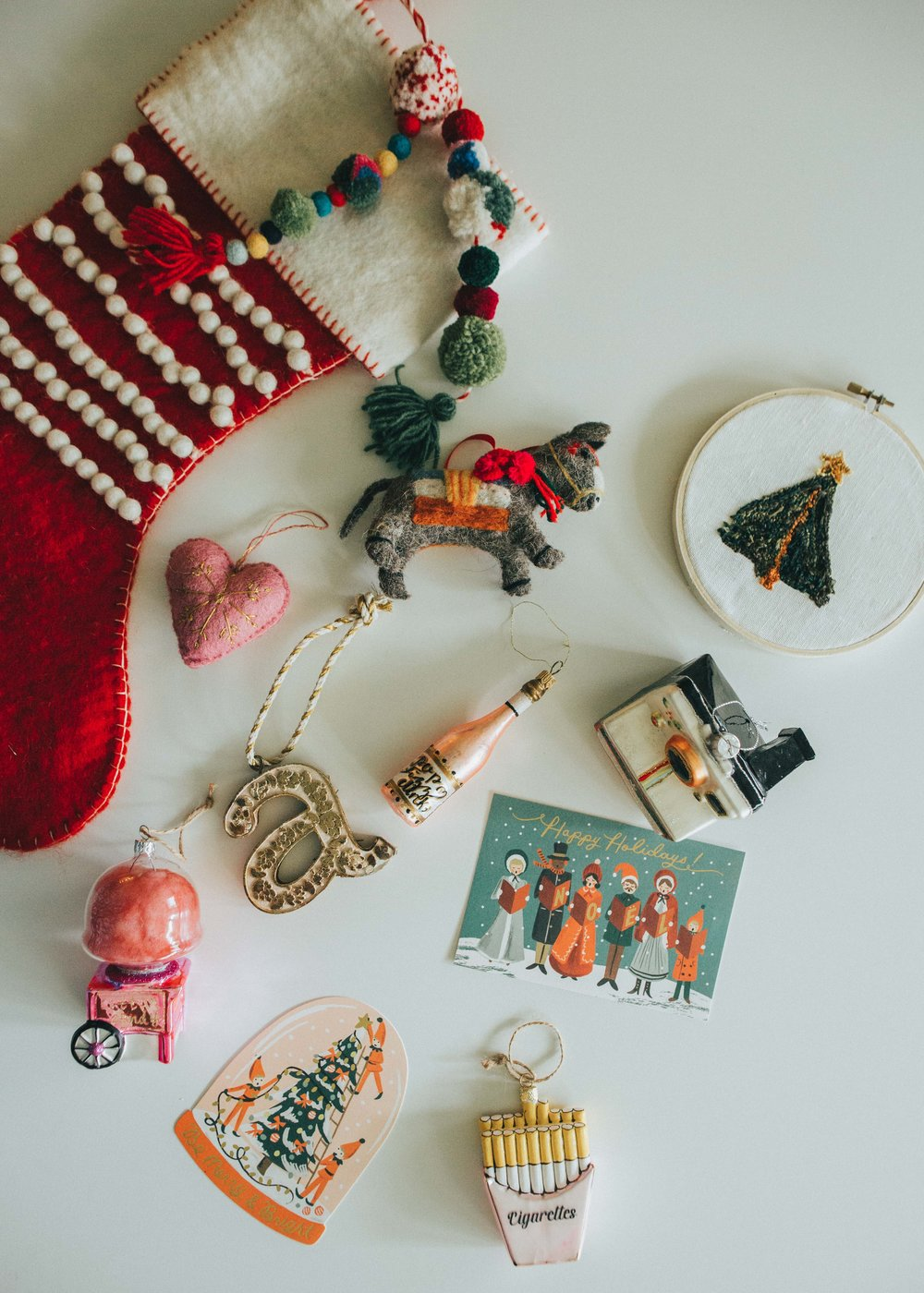 Some of MY favorite ornaments, hello again! :)
