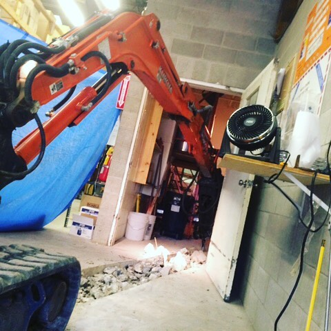 Trench #petrie#kubota#contracting#excavation#operator#tightsqueeze