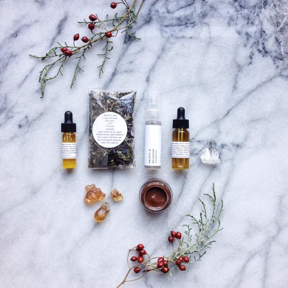 Marble & Milkweed | winter getaway kit 2015
