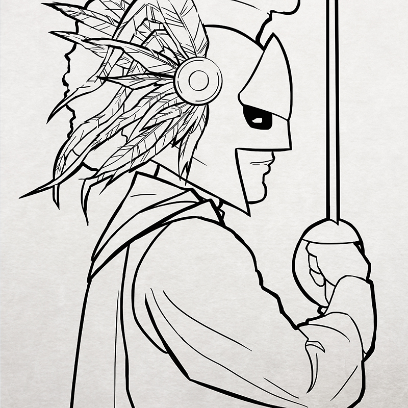 Antediluvia - Character Design