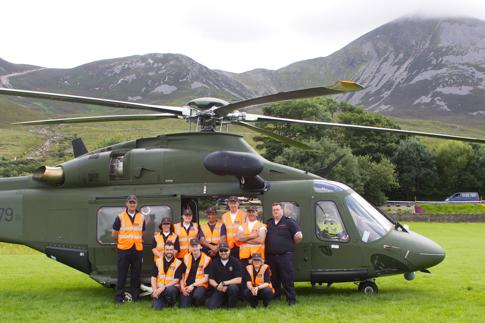 Dublin Civil Defence @ Croagh Patrick 2014