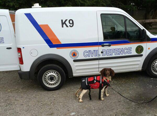 Max Dublin Civil Defence K9 Unit