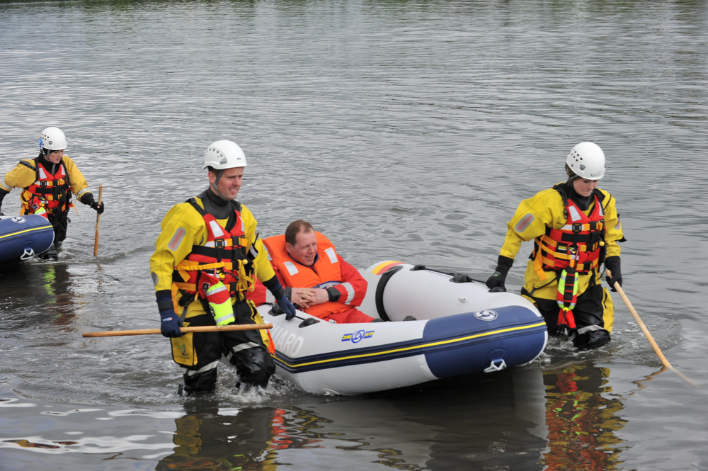 Malahide Flood Exercise 2011