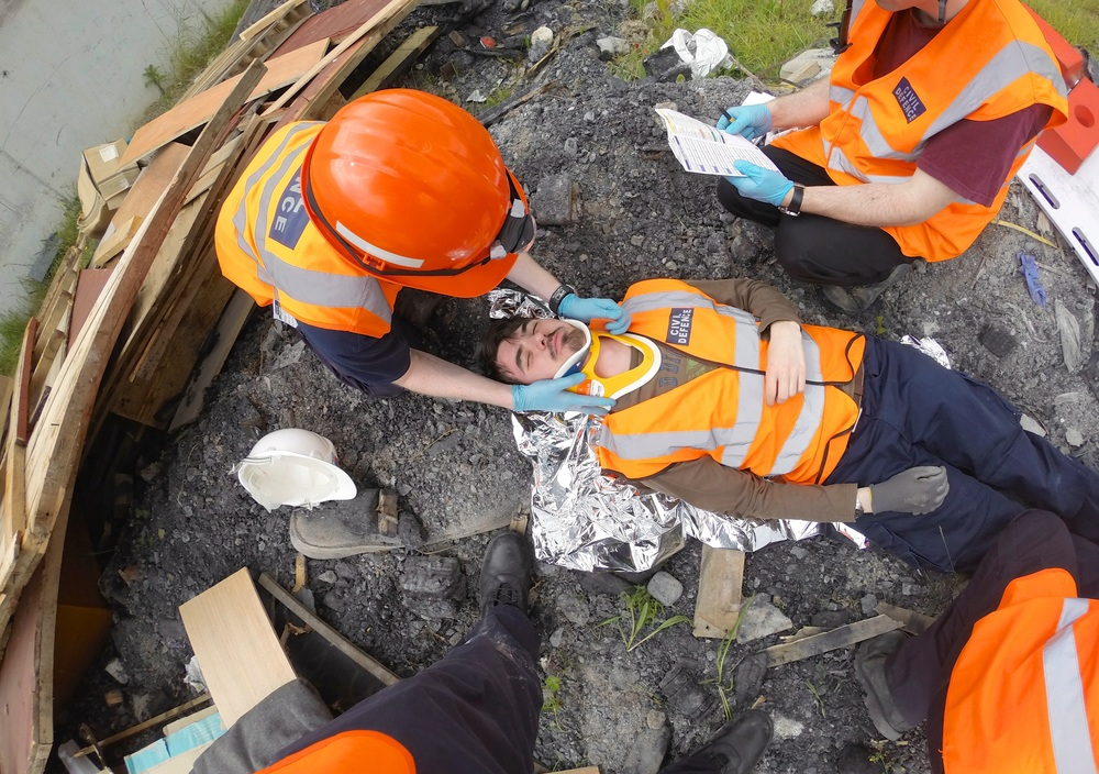 Dublin Civil Defence Rescue Training