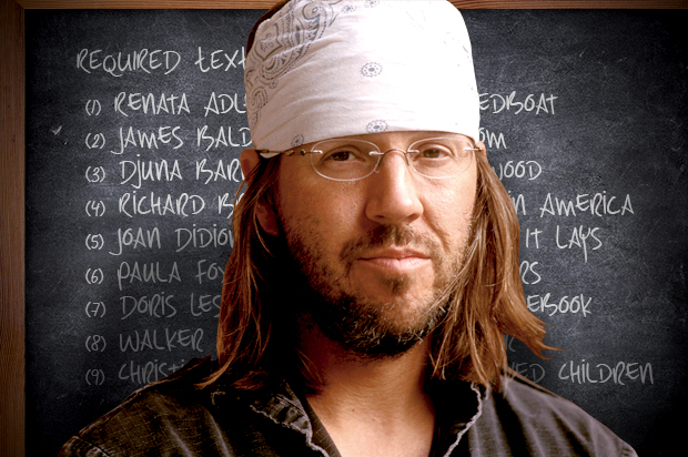Midweek Links #2: David Foster Wallace's Amazing Fiction Syllabus | mysticsister.net