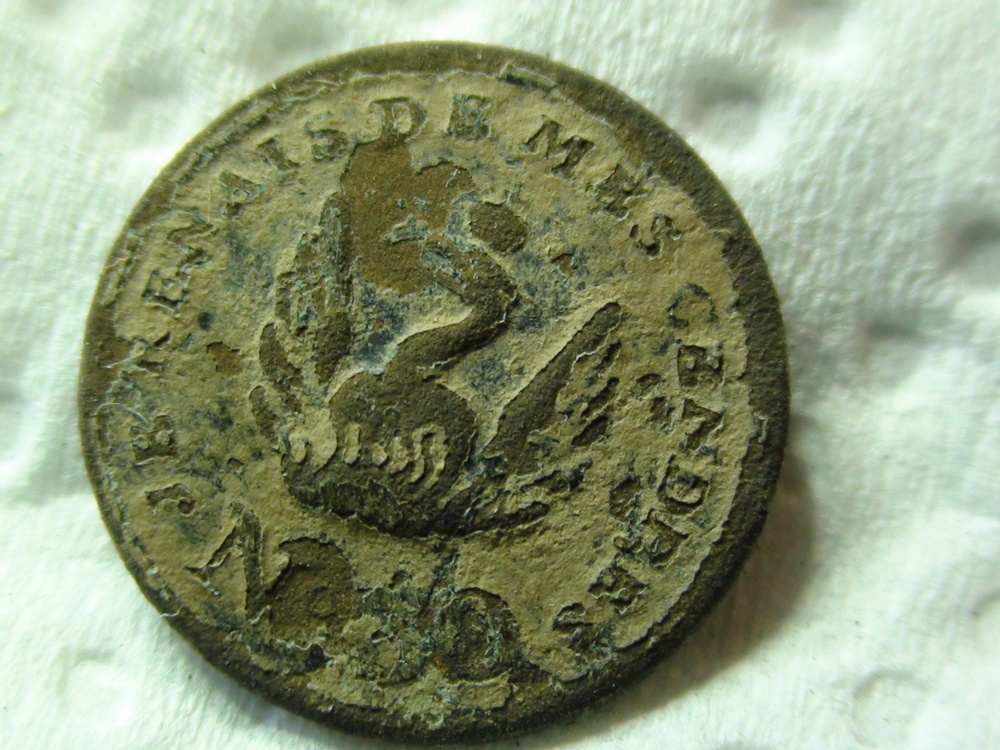 Phoenix Button found by Chris Johnson