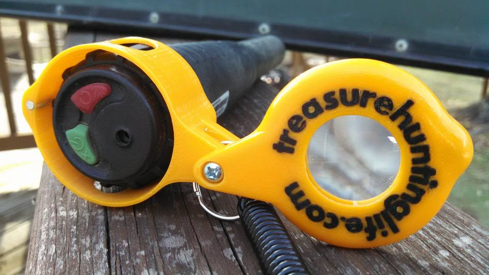 Here is a Makro with a lanyard from DetectingDooDads.com