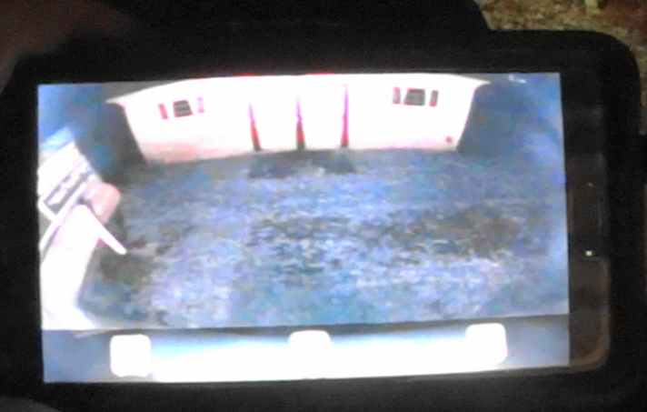Update: Screenshot of my backup camera