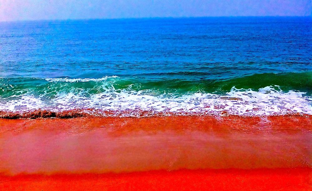 Undeniably unique colors of the Arabian Sea Coast~ Malabar Coast, Kerala, India 2012