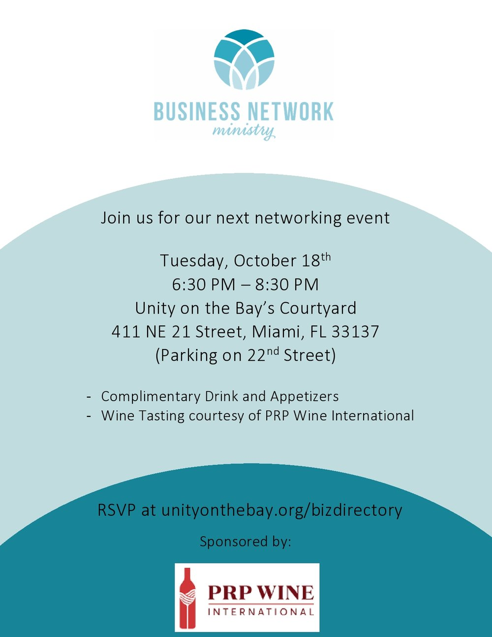 Business Networking Event Unity on the Bay