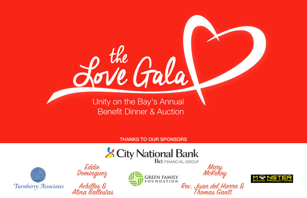 The Love Gala Unity on the Bay