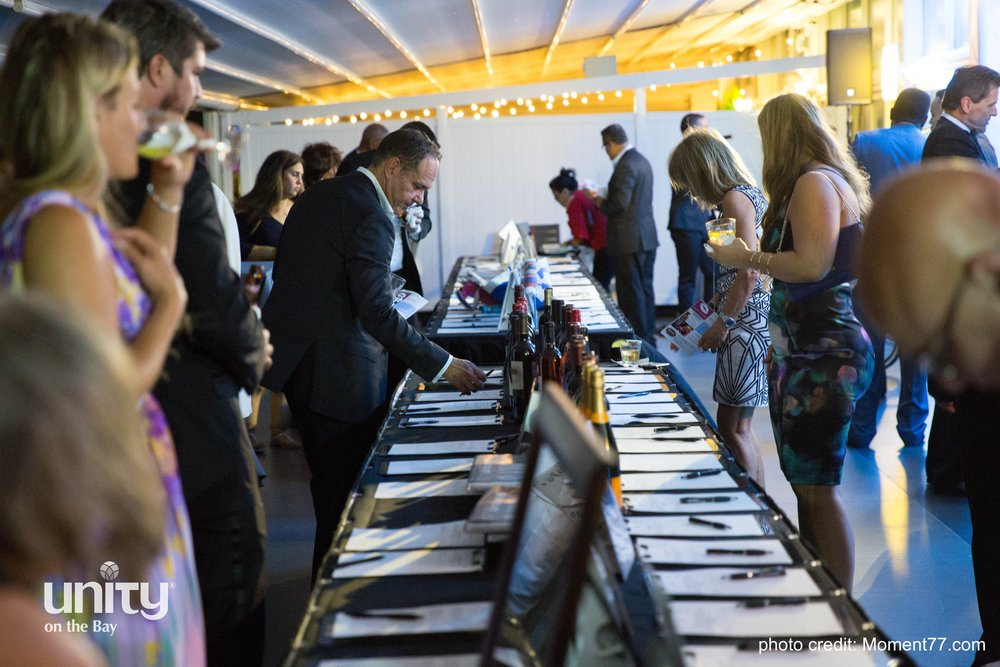 Picture from the 2017 Silent Auction at The Love Gala.